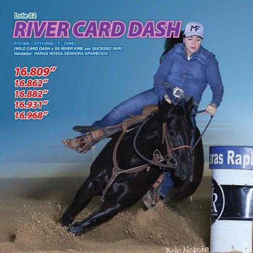 RIVER CARD DASH
