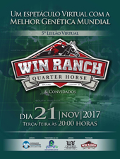 5º Leilão Virtual Win Ranch