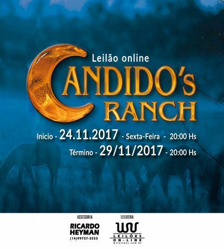 3º Leilão Online Candido´s Ranch