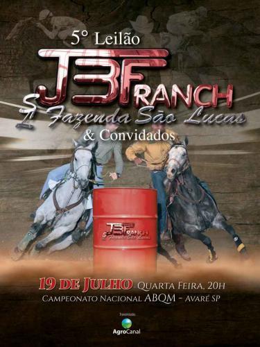 6º Leilão JBF Ranch e Fazenda São Lucas