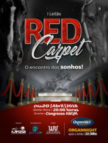 1° Leilão Red Carpet