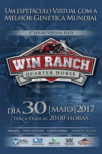 6° Leilão Virtual Win Ranch e Convidados