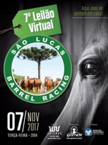 8° Leilão São Lucas Barrel Racing