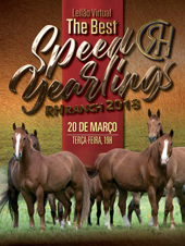 Leilão Virtual The Best RH Speed Yearlings 2018