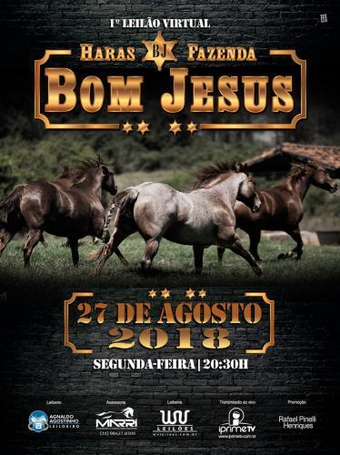 1º Leilão Virtual Haras Fazenda Bom Jesus