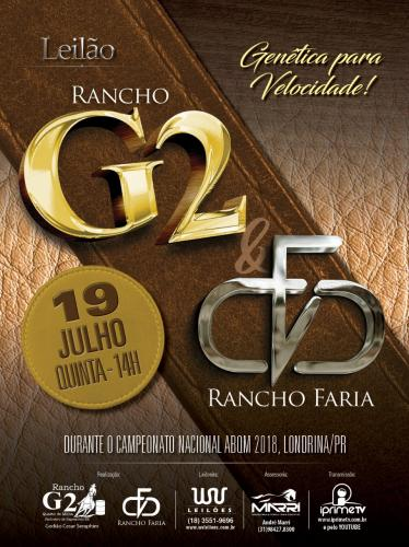 Leilão Rancho G2 & Rancho Faria