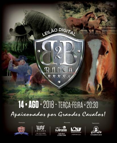 2º Leilão Virtual B2B Ranch