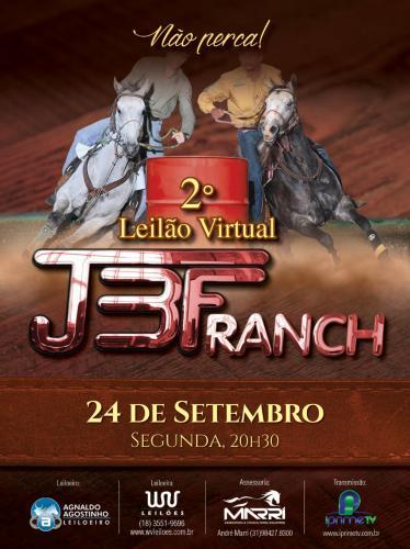 2º Leilão Virtual JBF Ranch