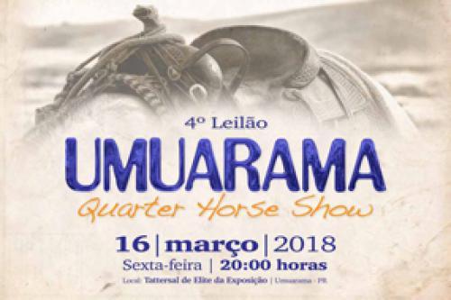 5° Leilão Virtual Umuarama Quarter Horse Show