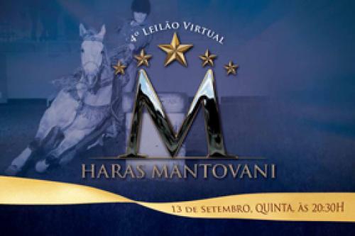 5° Leilão Virtual Haras Mantovani