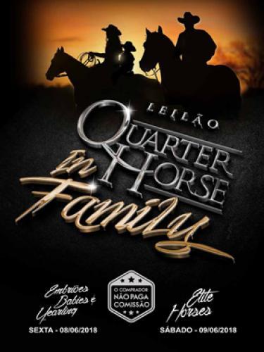 5º Leilão Quarter Horse In Family - Embriões, Babies e Yearlings