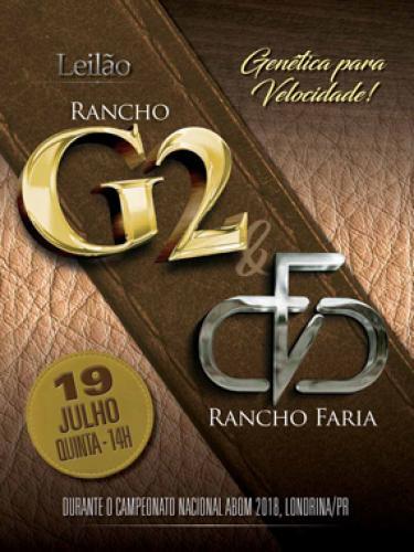 2° Leilão Rancho G2 & Rancho Faria