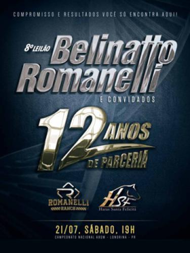 9º Leilão Belinatto & Romanelli e Convidados