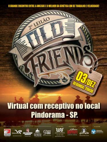 3° Leilão Virtual Old Friends