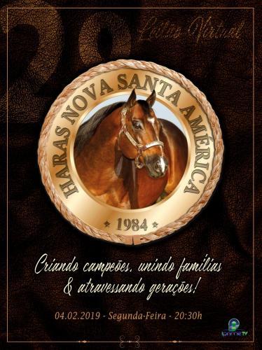 2º Leilão Virtual Haras Nova Santa América