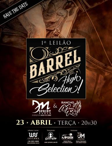 1° Leilão Virtual Barrel High Selection