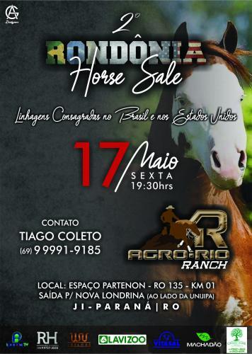 2° Leilão Rondônia Horse Sale