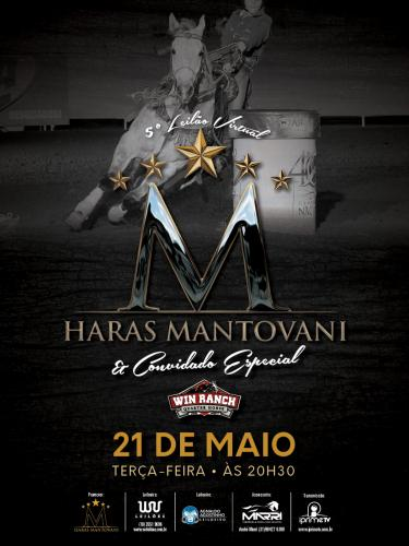 5º Leilão Virtual Haras Mantovani e Convidado especial Win Ranch