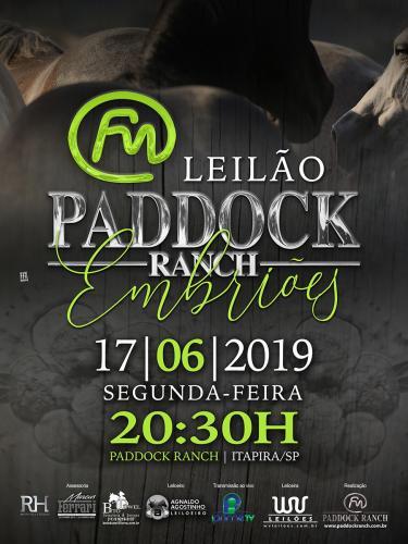 Leilão Paddock Ranch - Embriões