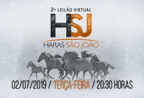 2° Leilão Virtual Haras São João