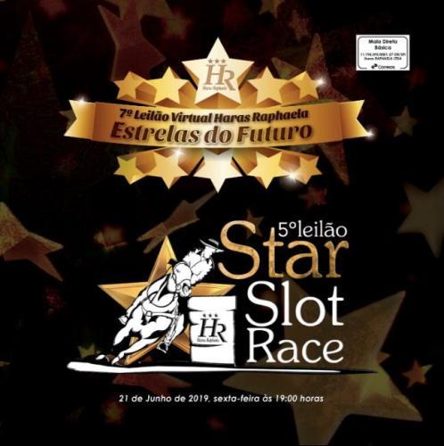 7º Leilão Haras Raphaela Estrelas do Futuro e 5º Leilão Star Slot Race - Embriões