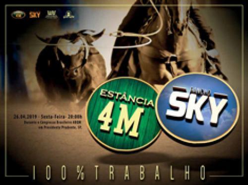 3º Leilão Estância 4M e Rancho SKY - 100% Trabalho