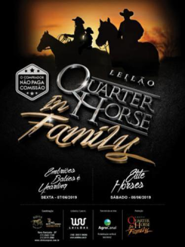 6º Leilão Quarter Horse In Family - Embriões, Babies e Yearl