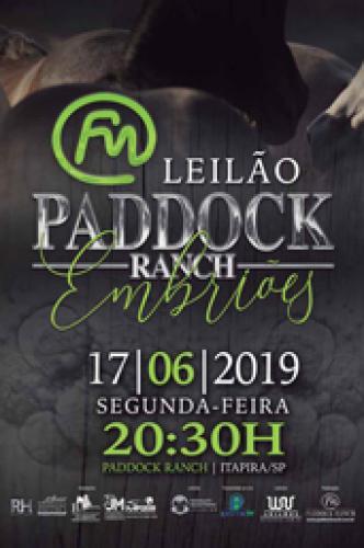 15º Leilão Paddock Ranch - Embrião