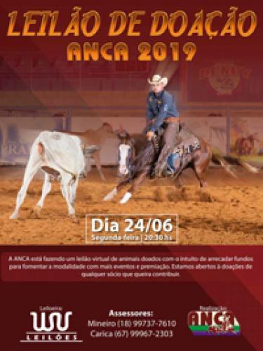 Leilão de Doação ANCA 2020