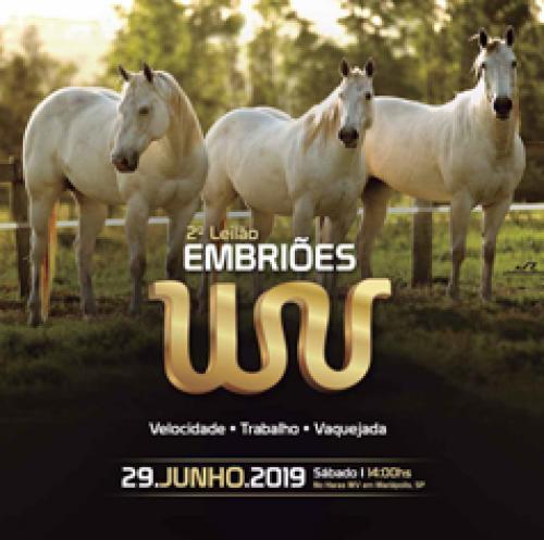 3º Leilão de Embrião Haras WV