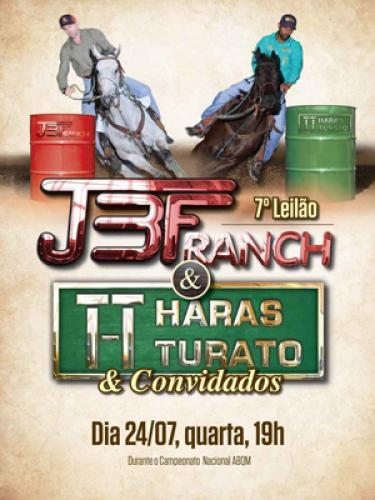 8º Leilão JBF Ranch & Haras Turato e Convidados