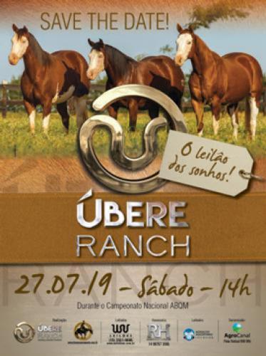 2º Leilão Ubere Ranch, Haras Sacramento e Convidados