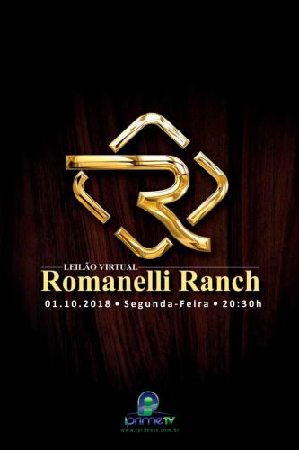 4º Leilão Virtual Romanelli Ranch