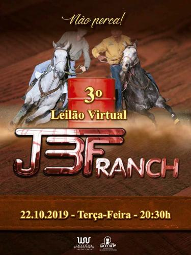 3º Leilão Virtual JBF Ranch