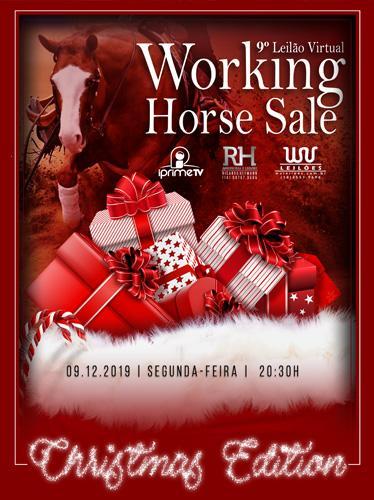 9° Leilão Virtual Working Horse Sale- Christmas Edition
