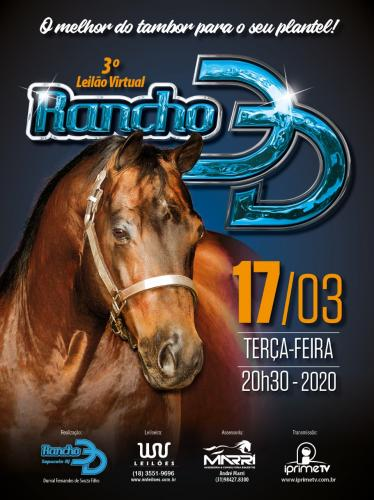 3° Leilão Virtual Rancho 3D
