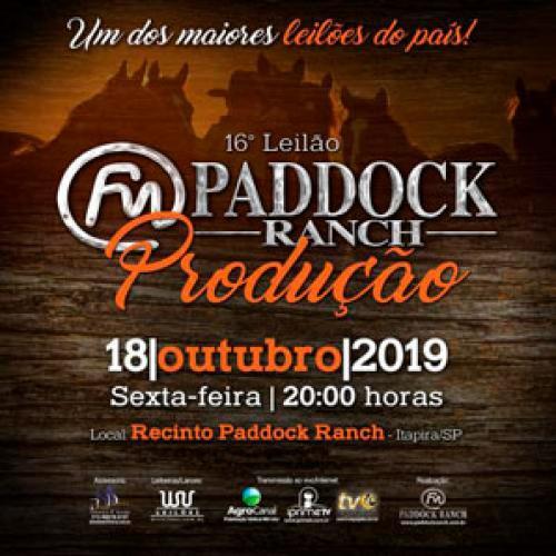 17º Leilão Paddock Ranch - Produção