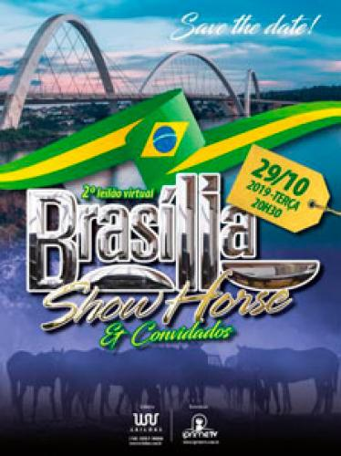 3º Leilão Virtual Brasilia Show Horse e Convidados