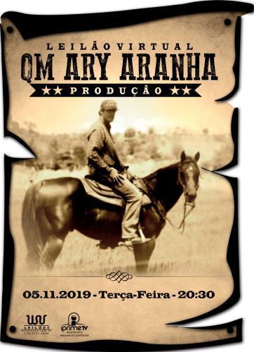 2º Leilão Virtual de Produção QM Ary Aranha