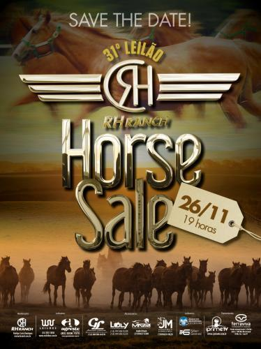 31º Leilão Virtual RH Ranch Horse Sale