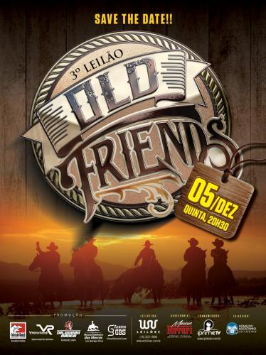 3º Leilão Virtual Old Friends