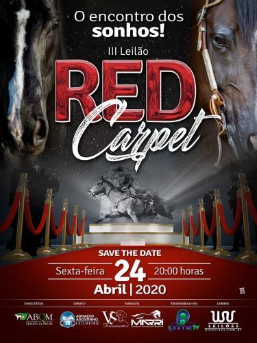 3º Leilão Red Carpet