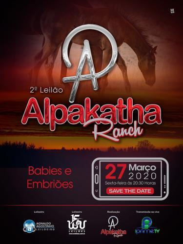 2º Leilão Alpakatha Ranch - Babies e Embriões