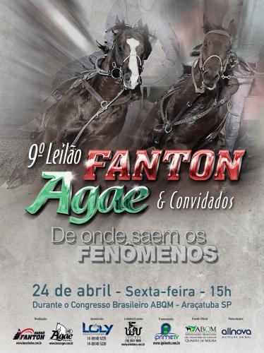 10º Leilão Haras Fanton & Haras Agae e Convidados