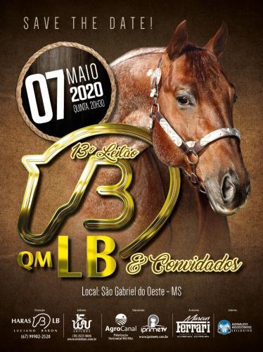 13º Leilão QM LB e Convidados