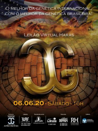 Leilão Virtual Haras J Garcia