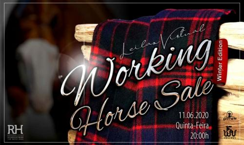 Leilão Virtual Working Horse Sale - Winter Edition