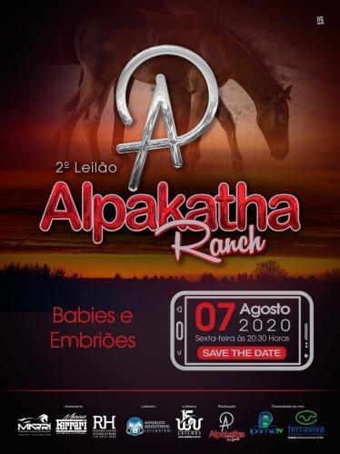 2º Leilão Virtual Alpakatha Ranch - Babies e Embriões