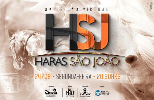 3º Leilão Virtual Haras São João