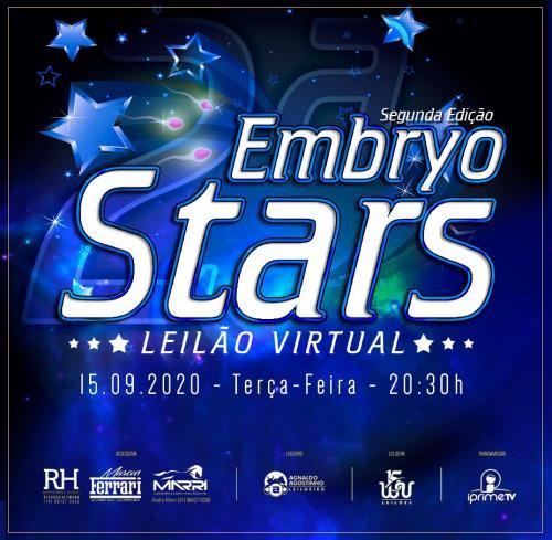 2º Leilão Virtual Embryo Stars